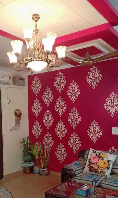 Sajavat Home Tour Shalini Jain Of Creative Kalakari Living Room Paint Design Room Wall Colors Living Room Wall Color
