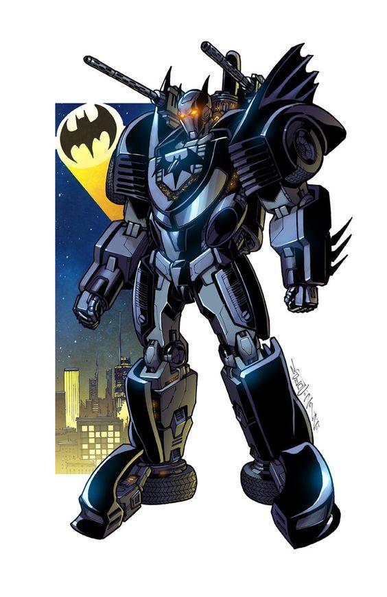 batmobile bot commission by markerguru
