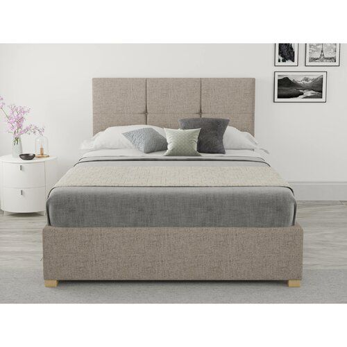 Moyers Upholstered Ottoman Bed Brayden Studio Size Small Double