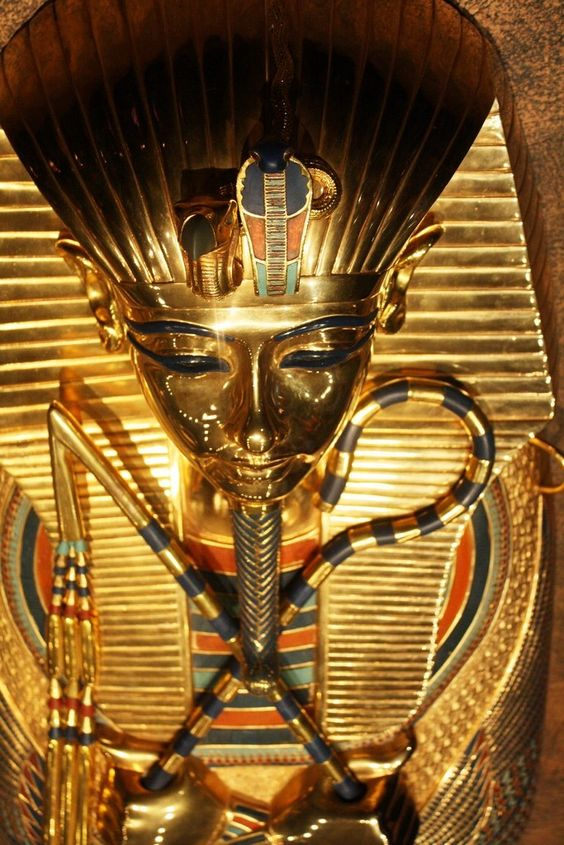 King Tut: Tutankhamun was the son of Akhenaten (formerly Amenhotep IV) and one of Akhenaten's sisters.As a prince he was known as Tutankhaten.He ascended to the throne in 1333 BC, at the age of nine or ten, taking the throne name of Tutankhamun. His wet-nurse was a woman called Maia, known from her tomb at Saqqara.When he became king, he married his half-sister, Ankhesenpaaten, who later changed her name to Ankhesenamun. They had two daughters, both stillborn.Computed tomography studies relea