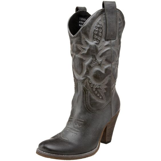 Cowboy Boots for Women | cute black volatile western cowgirl ...