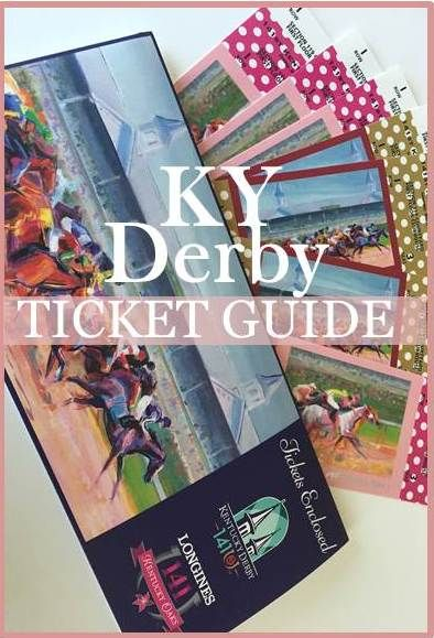 Our Kentucky Derby ticket guide is one of the most popular ticket buying guides on the internet.  Here, you'll find everything you need to know about buying tickets for the Kentucky Derby, from where to sit to when to buy.