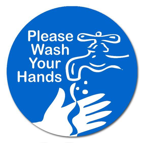 Wash hands clip art