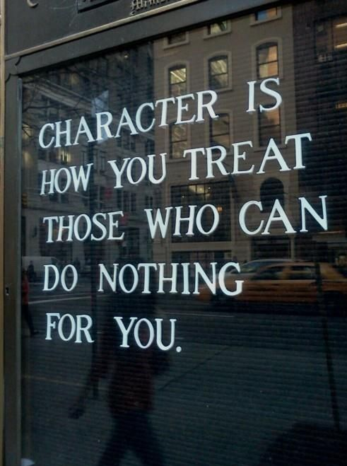 This is character