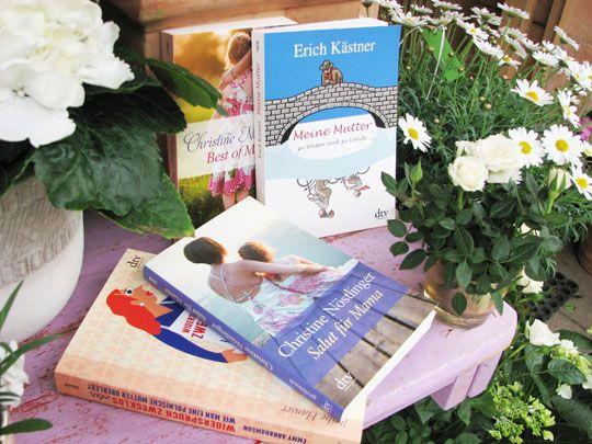 Die schönsten literarischen Liebeserklärungen an Mama - unsere Buchtipps zum Muttertag.