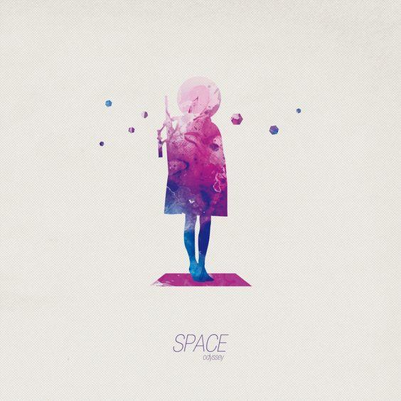 Space Od by David Duphil, via Behance