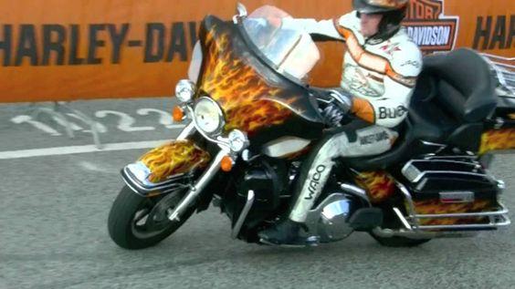 Motorrad Stunt-Show, Hamburg Harley Days