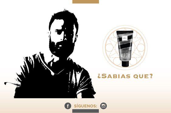 Debajo de la barba, la piel es suave y está hidratada. #beard #majestusa #alpha #proud