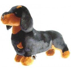 Douglas Plush Stuffed Spats Black & Tan Dachshund Dog