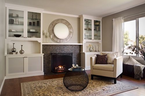 Updating Outdated Brick Fireplace   Fireplace Remodeling Ideas ...