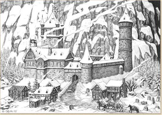 Kloster Rabenhorst von Caryad.