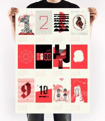 Upstruct Kalender 2013