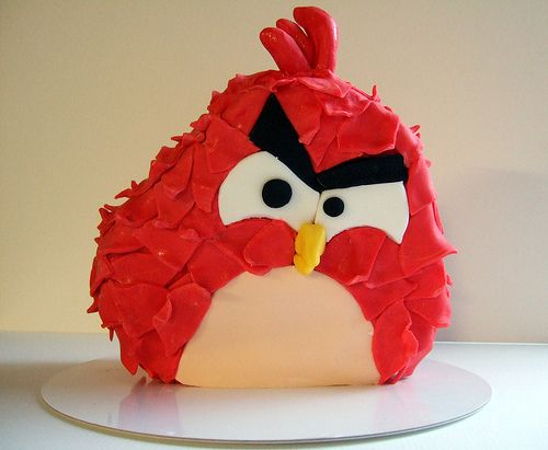 Angry Bird-A special persons 14th Birthday Cake!