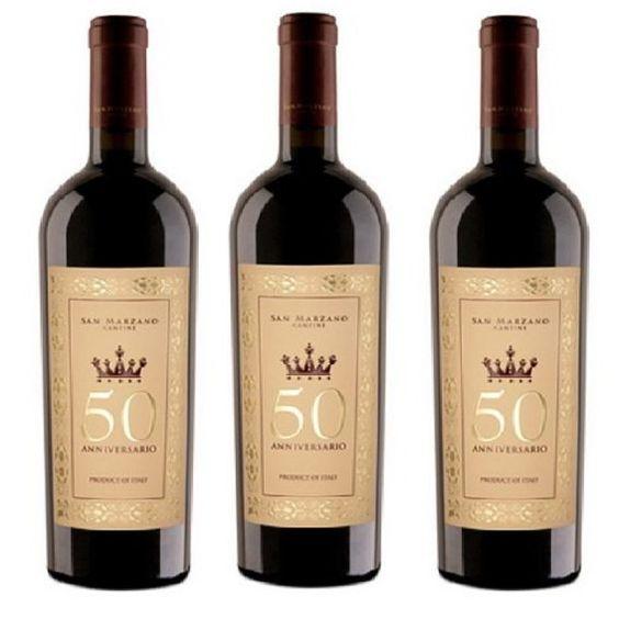 Rượu Vang 50 Aniversario 15% - Chai 750ml - Rượu Vang Nhập Khẩu