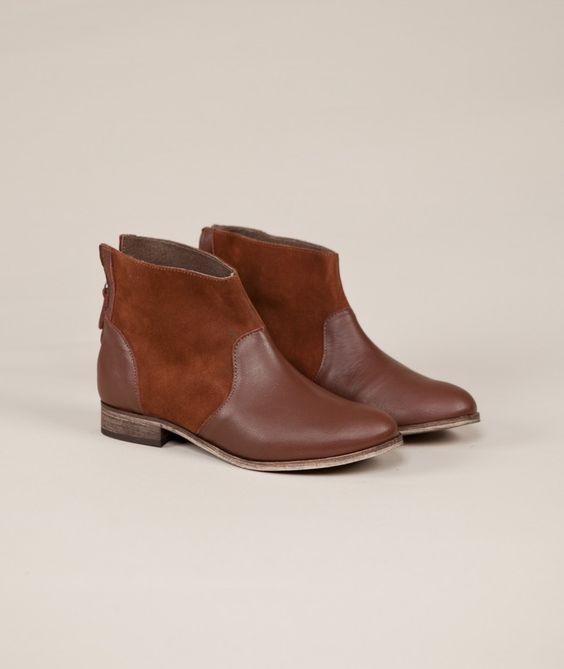 GLÜCKLICH ankleboot brown - Damenmode & Schuhe jetzt versandkostenfrei , Schuhe - Kauf Dich gluecklich