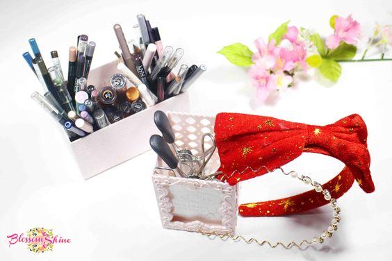 Desk Organiser as Makeup Organiser