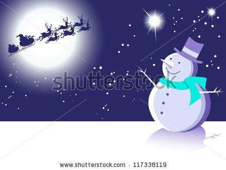 stock vector : Christmas Fun Animals-Four Festive Vector Animal Illustrations