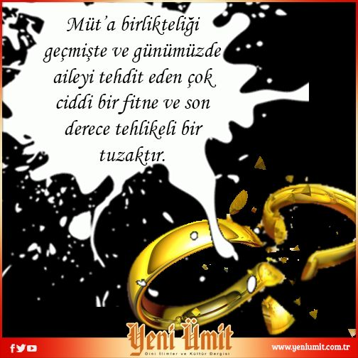 Müt'a Nikâhının Meşrûiyet Sorunu' başlıklı yazımızı okumak için… http://bit.ly/1sBHcFl #muta #nikah #haram #fitne #evlilik #islam #
