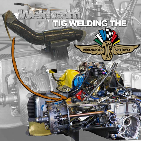 TIG Time will be live at the Indy 500 welding garage all week welding on damaged cars and teaching about materials related to racing!