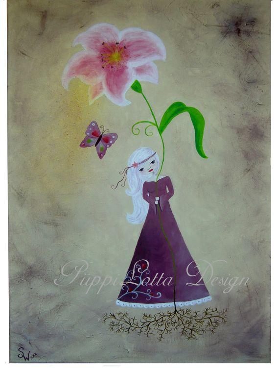 Liliana in Farbe...