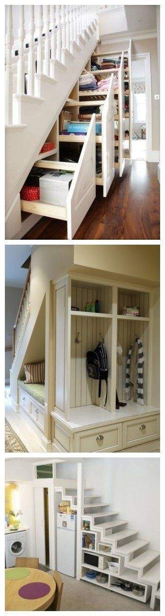 ber ideen zu stauraum unter der treppe auf. Black Bedroom Furniture Sets. Home Design Ideas
