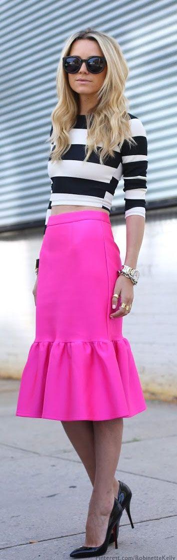Rayas y faldas
