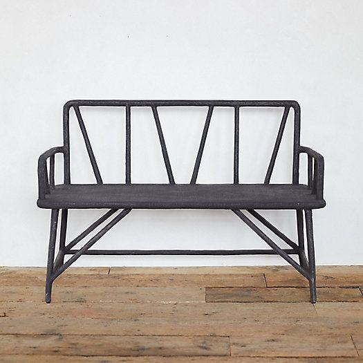 Check Out Ironwood Garden Bench From Terrain In 2020 Garden Bench Garden Furniture Teak Lounge Chair