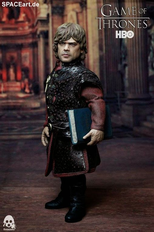 Game of Thrones: Tyrion Lannister, Voll bewegliche Deluxe-Figur ... http://spaceart.de/produkte/got001.php