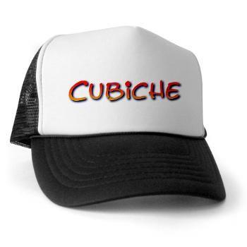 CUBICHE TRUCKER HAT.  http://www.cafepress.com/cubanall.75044563