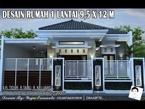 620 Gambar Rumah Minimalis Ukuran 5x12 1 Lantai HD