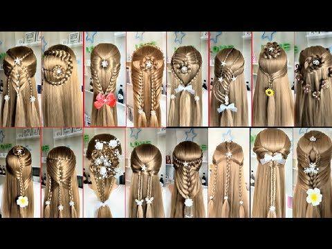 Peinados Recogidos Faciles Para Cabello Largo Bonitos Y Rapidos Con Trenzas Para Nina P3 Youtube Easy Hairstyles For Long Hair Hair Styles Easy Hairstyles