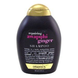 Organix Repairing Awapuhi Ginger Shampoo -- 13 fl oz- mends split ends and strengthens hair without stripping the color.
