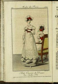Petit Courrier des Dames : annonces des modes, des nouveautés et des arts del 5 de Marzo de 1822