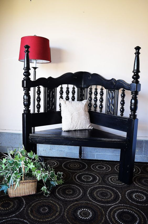 Do It Yourself Home Design: Headboards, Benches And Corner Bench On Pinterest