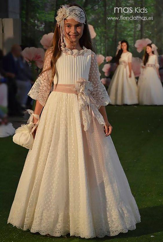 profesional rendimiento confiable excepcional gama de estilos vestidos de encaje para niñas de 12 años | Primera Comunión ...