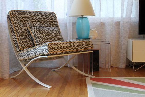 Barcelona Style Chair  Regency by popcelona on Etsy, $699.00