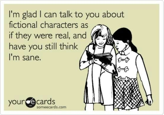 Talking about #Fictional #Characters