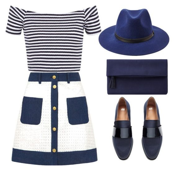 """""""#277"""" by riozannat ❤ liked on Polyvore featuring Sister Jane, H&M, Forever 21 and John Lewis"""