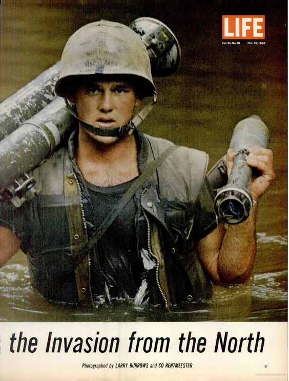 Vietnam War covered in LIFE Magazine October 28, 1966