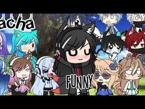 Gacha Funny Xd Feat Gachatubers Uwu Read Deskripsi Youtube Funny Reading Anime