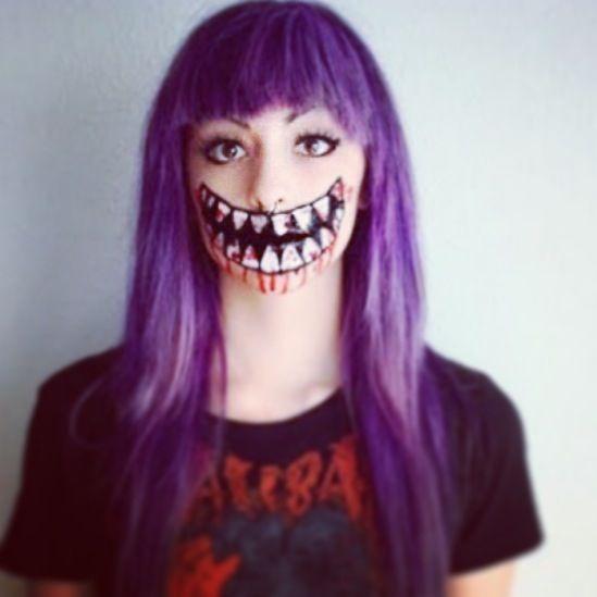 Anna Yablokova (annayablokova) on Pinterest - halloween face paint ideas scary