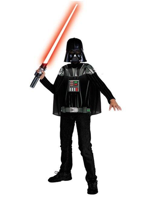 Star Wars Darth Vader Kinder Kostüm Set Lizenzware schwarz #MayThe4thBeWithYou