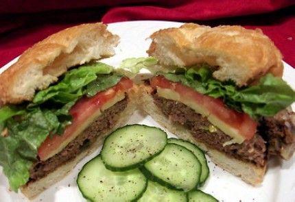 Low Fat Hamburgers 90