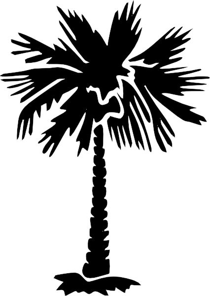 Palm Tree Silhouette | Palm Tree Silhouette clip art