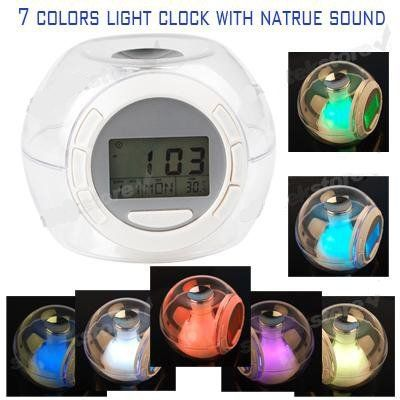 Colors Clock And Alarm Clock On Pinterest