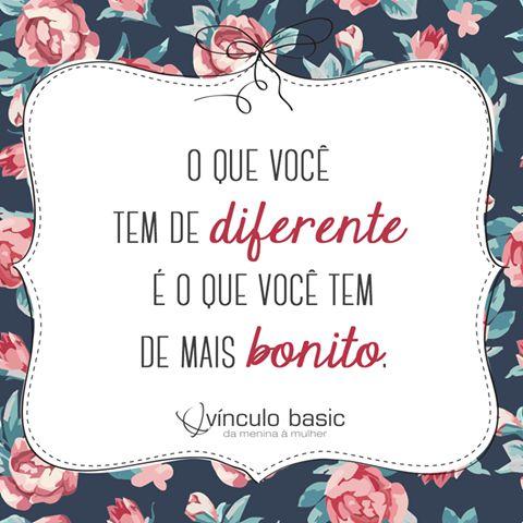 Aposte naquilo que faz você ser única! ❤  #vinculobasic #personalidade