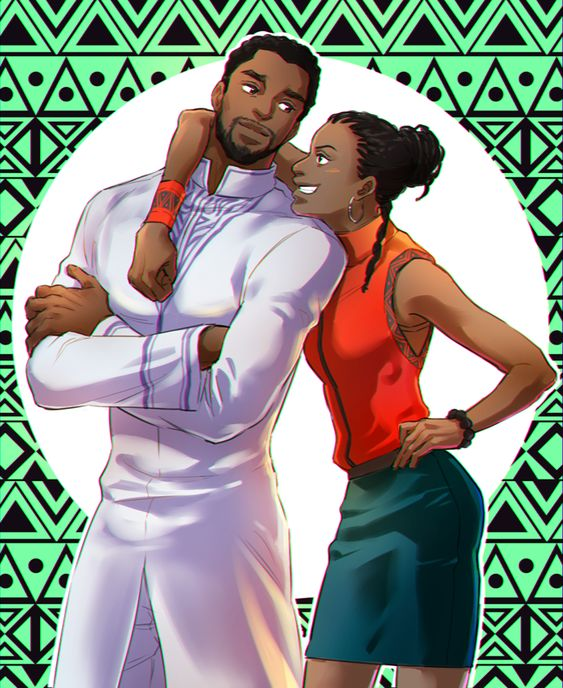 Black Panther: Big Brother T'Challa and *smarter than her big brother* Little Sister Shuri