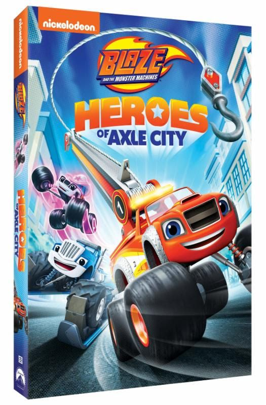 Blaze And The Monster Machines Heroes Of Axle City Was Released
