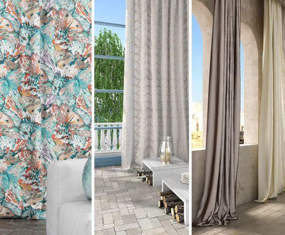 QUANTO DEVONO ESSERE LUNGHE LE TENDE?  Le tende a tutt'altezza possono appoggiare a terra per circa 1 o 5 cm o estendersi per più di 10 cm.  Nella foto: #Tessuto #Nimes #Collezione #Purity Tessuto #Cannella Collezione #Iris Tessuto #Type Collezione #Magazine  #tessuti #interiordesign #tendaggi #textile #textiles #fabric #homedecor #homedesign #hometextile #decoration #ctasrl Visita il nostro sito www.ctasrl.com e scarica le nostre brochure su:http://bit.ly/1nhrLQM