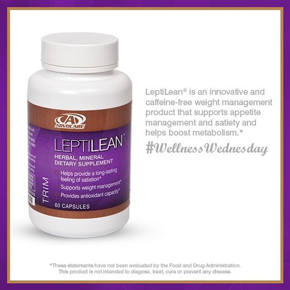 This product is great for helping promote a feeling of fullness and satiety* . Try LeptiLean® today!